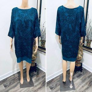 Emilio Pucci silk lace print dress 6